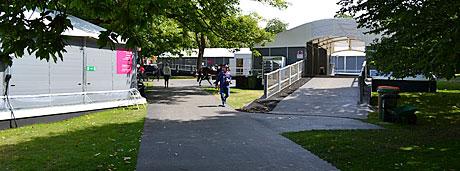 temporary walkway