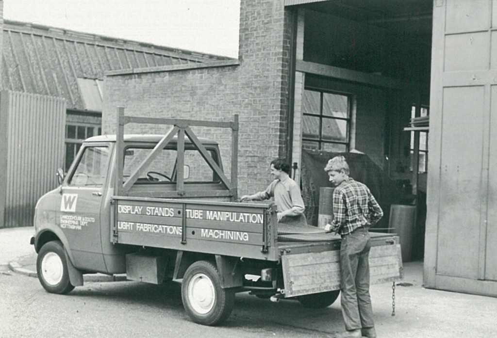 1971 Woodhouse Bedford Truck which cost £876 new.