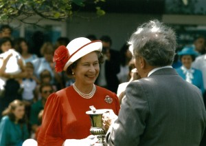 1987 H.M. The Queen at Royal Norfolk Show.