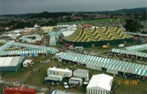 1991 National Eisteddfod 20' Shedding (Trade Stands)