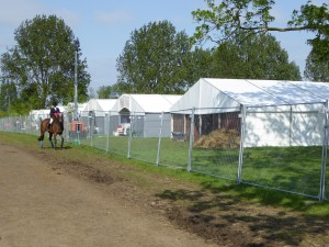 RWHS FEI stabling in use.