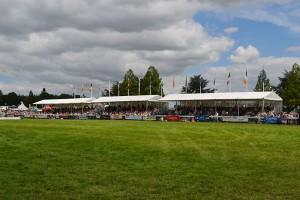 Well framed arena Grandstands Royal Norfolk