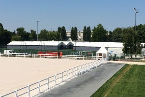 Stable Barns & Exercise Arena WEG Normandy 2014