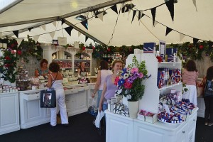 Trade stand Burghley HT